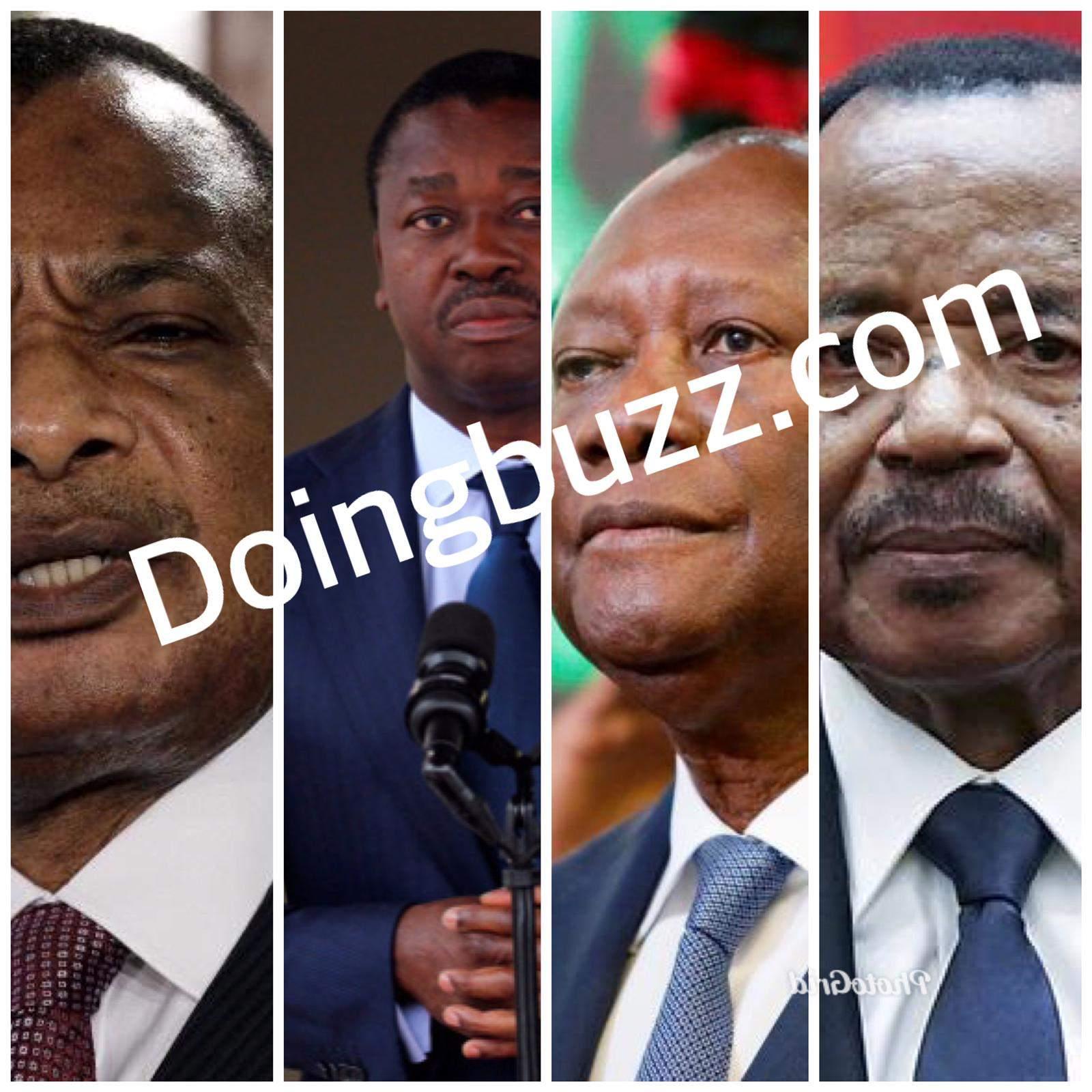 Sept (7) présidents africains qui ont modifié la constitution pour perdurer au pouvoir
