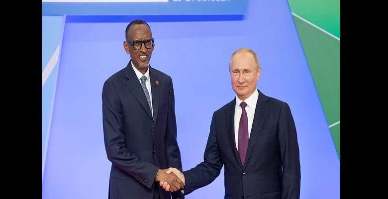 Sommet Afrique-Russie : Vladimir Poutine va investir dans le nucléaire au Rwanda