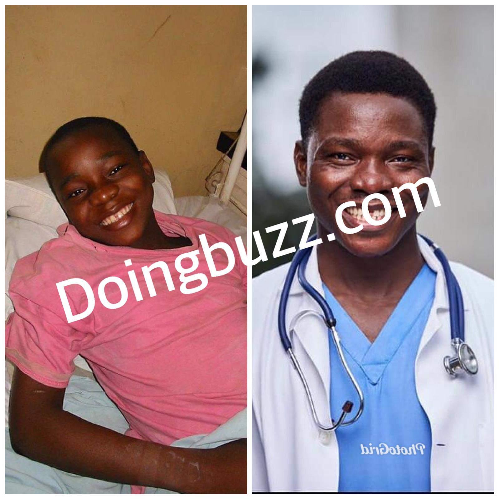 Voici l'histoire de ce Nigérian devenir médécin