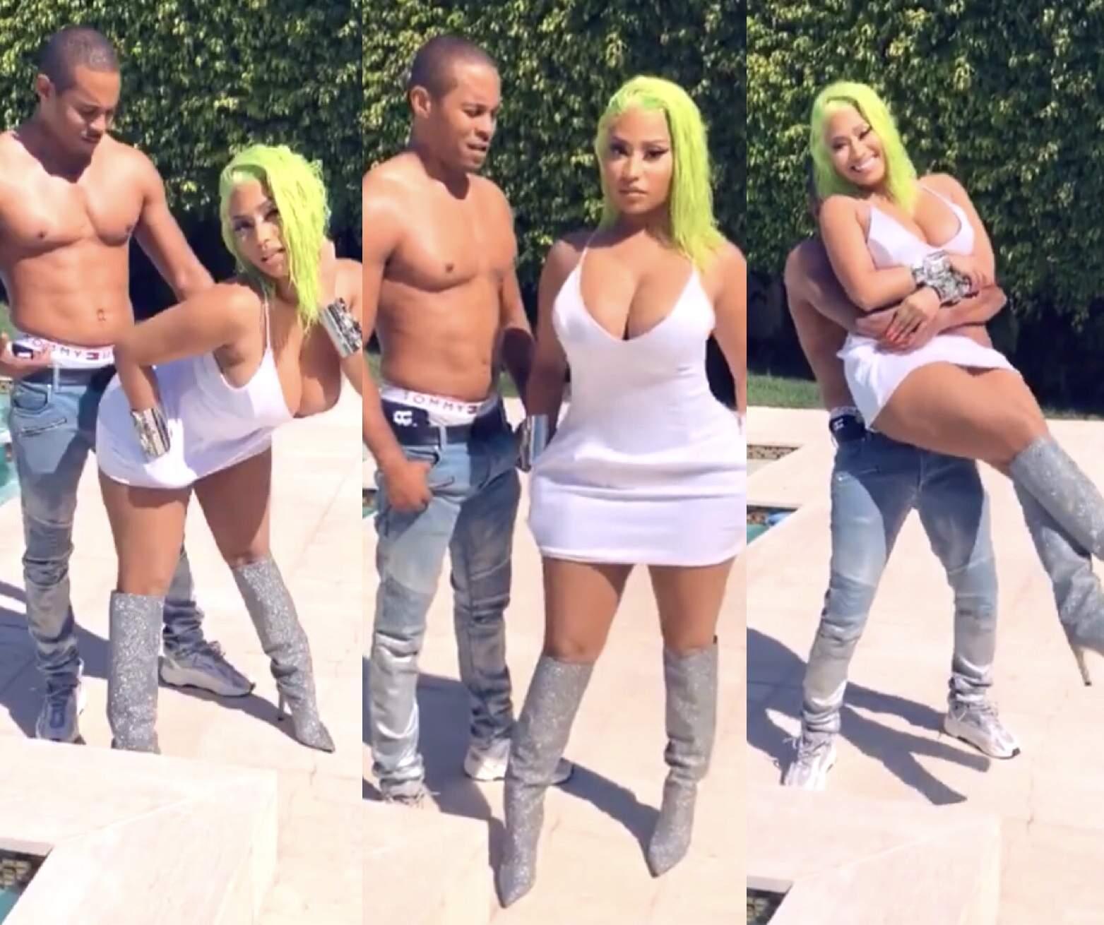 Nicki Minaj dévoile le nombre de fois qu'elle fait l'amour en une nuit