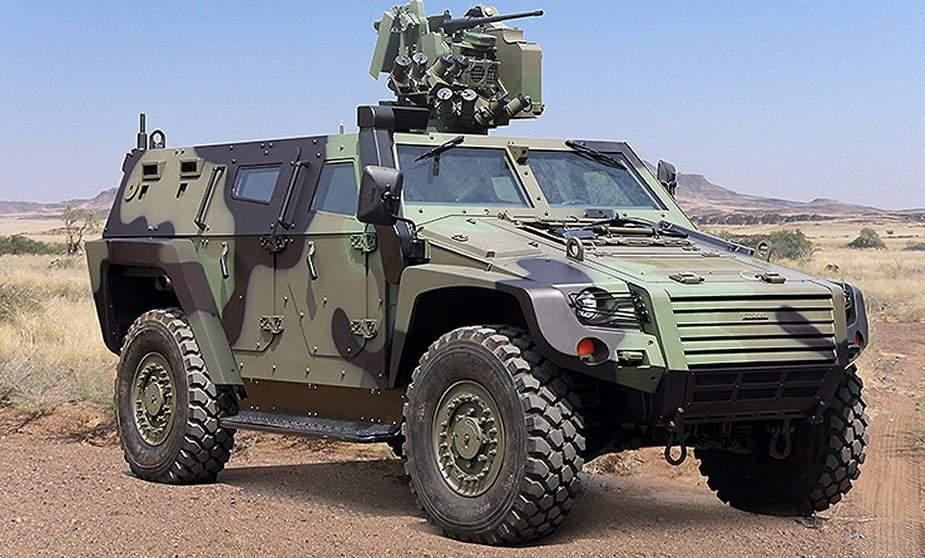 Le Ghana achète de nouveaux véhicules blindés pour lutter contre le terrorisme