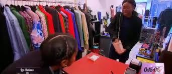 Recherche d'une vendeuse pour shopping