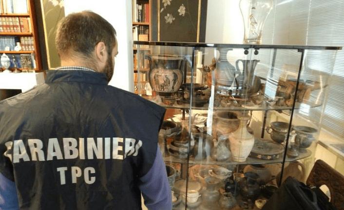 Italie : 10 000 objets archéologiques retrouvés en Europe