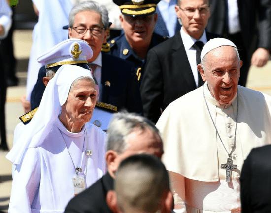 Vatican : Le Pape est allé en Thaïlande