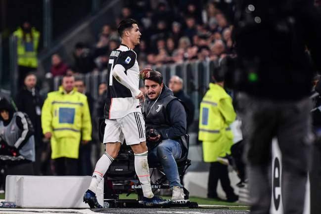 Football: Cristiano Ronaldo risque une sanction de 2ans