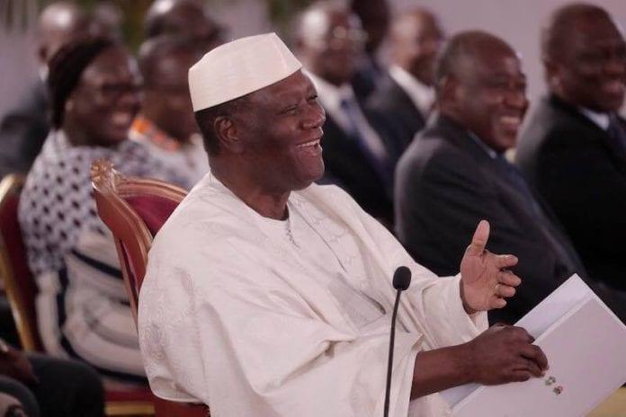 Ouattara depuis Katiola sur sa candidature en 2020: « la Constitution me l'autorise »