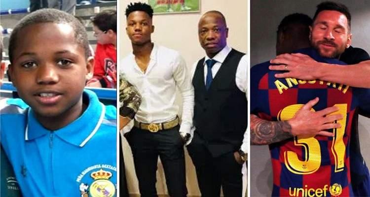 Anniversaire d'Ansu Fati: le beau geste de Lionel Messi