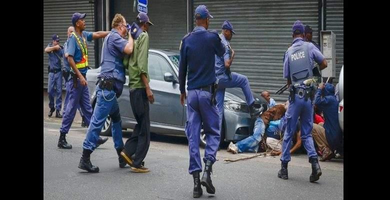Attaques xénophobes : plus de 180 étrangers arrêtés par la police sud-africaine