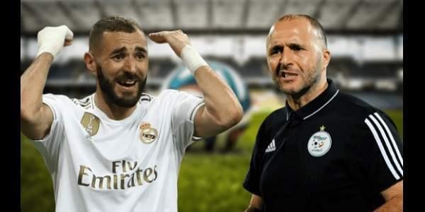 Benzema avec la sélection algérienne? Le coach Belmadi lui répond