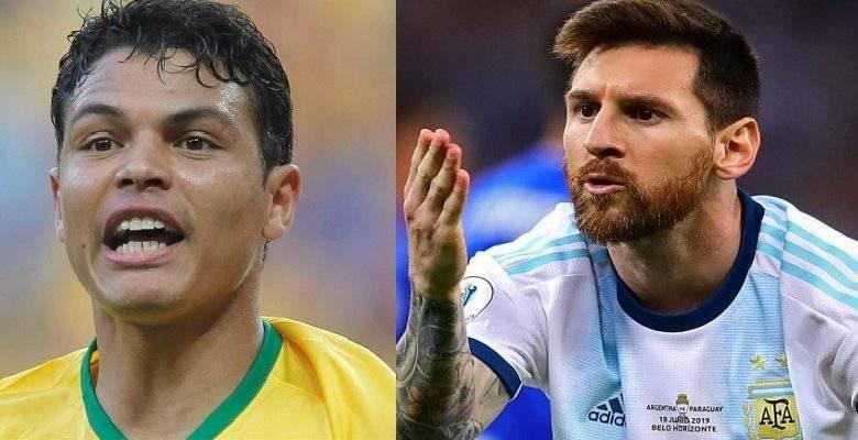 Brésil-Argentine: Thiago Silva s'en prend à Lionel Messi et critique l'arbitrage