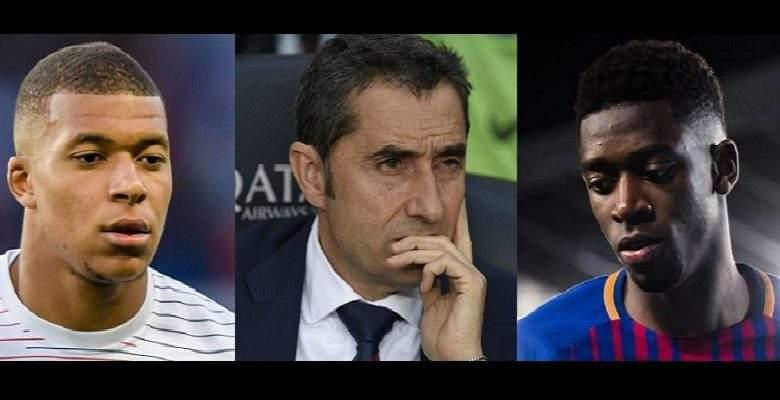 Dembélé: la nature de sa blessure révélée, Valverde et Mbappé réagissent