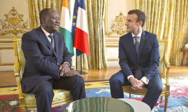 Troisième mandat d'Alassane Ouattara: Emmanuel Macron a-t-il réagi?