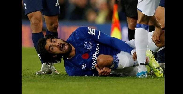 Everton/Grave blessure d'André Gomes: La réaction de Pochetino