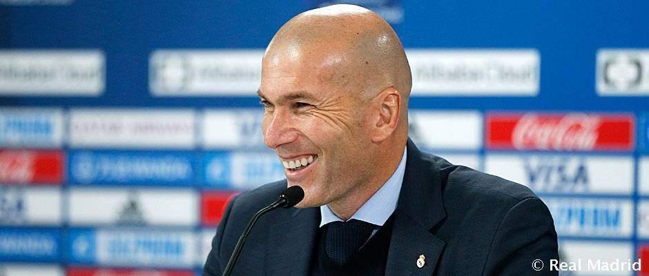 «Nous avons joué un grand match», déclare Zidane( Réal Madrid)
