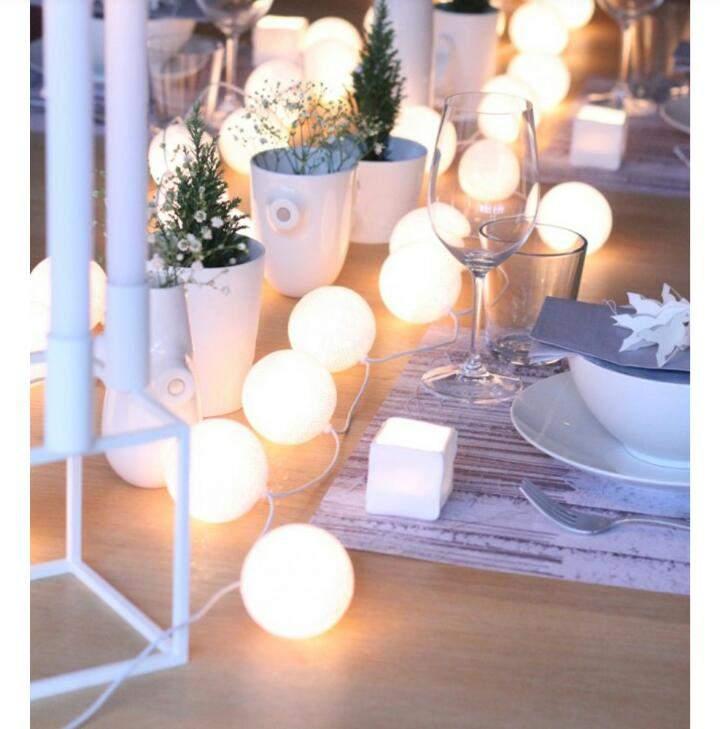 Comment faire une decoration de dîner de Noël à moindre coût?