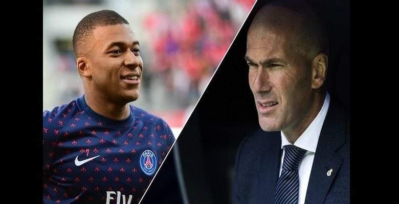 Kylian Mbappé futur joueur du Real Madrid ? Zinedine Zidane apporte des précisions