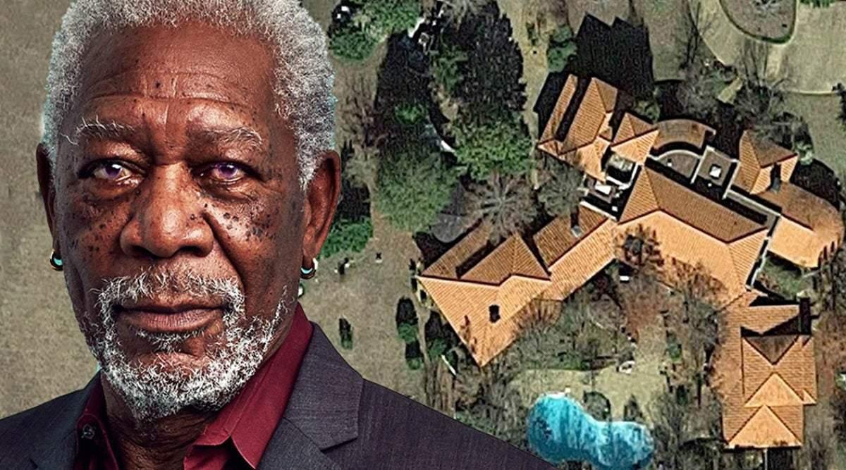 Morgan Freeman transforme sa maison de 50 hectares en un sanctuaire géant, pas pour sauver des humains, mais pour sauver les abeilles