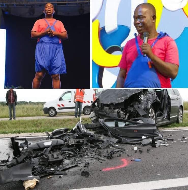 Les humoristes ivoiriens Papitou et Akoss victimes d'un grave accident de la circulation