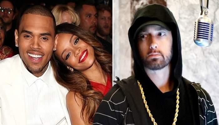 Eminem s'excuse auprès de Rihanna pour avoir soutenu Chris Brown