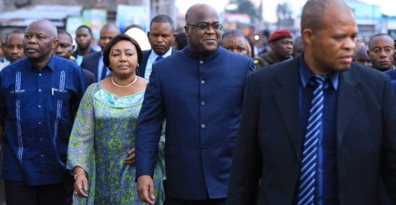 RD Congo: Félix Tshisekedi sur les lieux de l'éboulement à Kinshasa