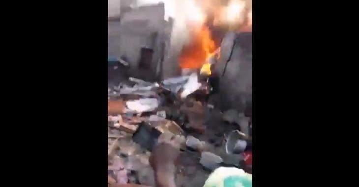 Rdc: Un Avion S'écrase Sur Une Maison Et Fait Au Moins 23 Morts (Video)