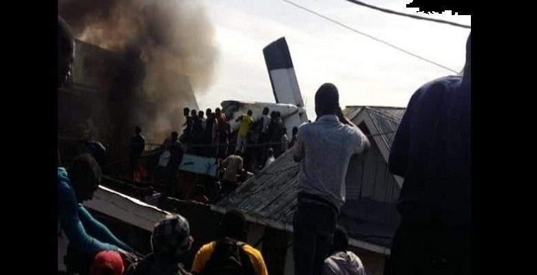 RDC : nouveau crash d'avion ce dimanche matin