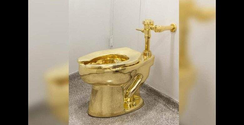 Royaume-Uni : une sixième personne arrêtée après le vol de WC en or massif d'une valeur de plus d'un million d'euros