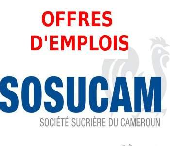 Recherche D'ouvriers de production a SOSUCAM Minimum BEPC