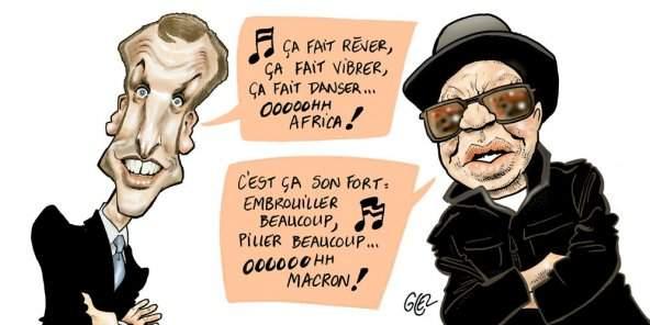 Salif Keita, griot anti-Macron
