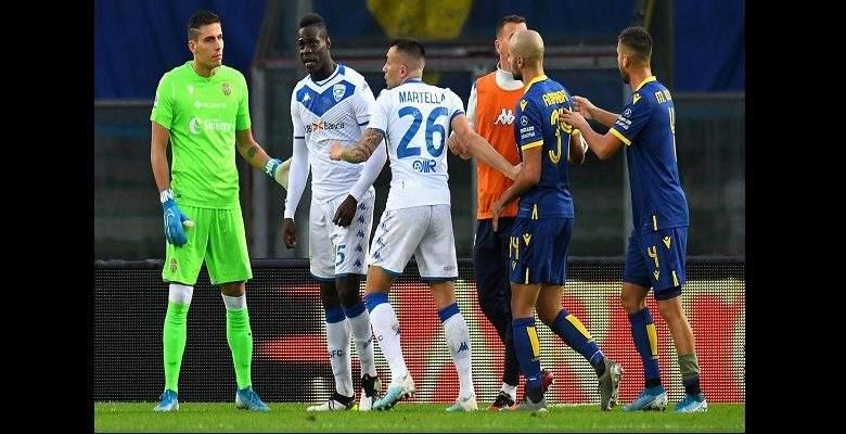 Serie A : Mario Balotelli victime de cris racistes, réagit-(vidéo)