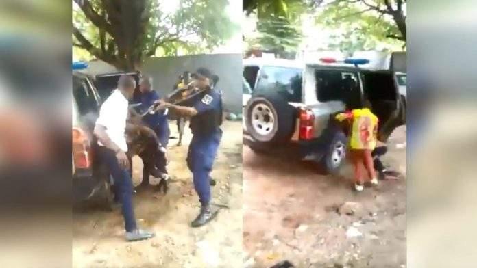 VIDÉO: RDC, un policier tue un homme dans un hôpital avec une kalachnikov