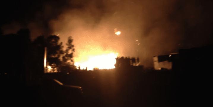 Vidéo – choc à Dakar : L'Usine Nestlé en feu !
