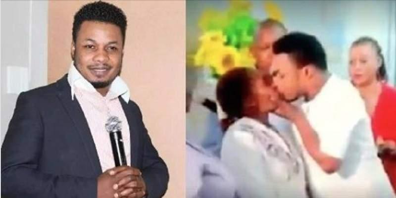 Vidéo: un pasteur guérirait les femmes en les embrassant passionnément
