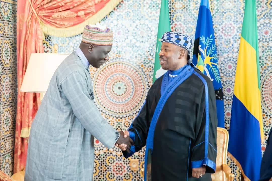 Ce qu'il faut noter de la rencontre entre Ali Bongo et Alamine Ousmane Mey
