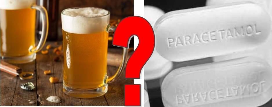 Entre le paracétamol et la bière qui soulagerait mieux la douleur physique?