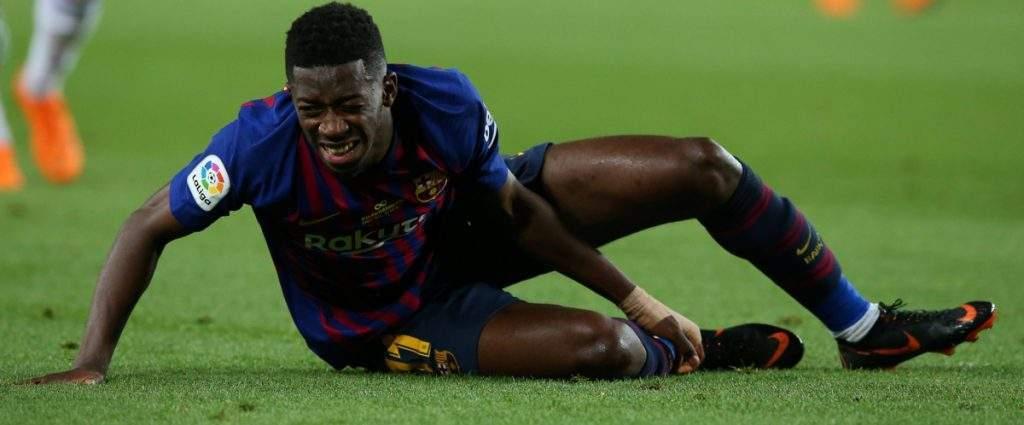 FC Barcelone: Les blessures répétées de Ousmane Dembélé inquiètent les dirigeants