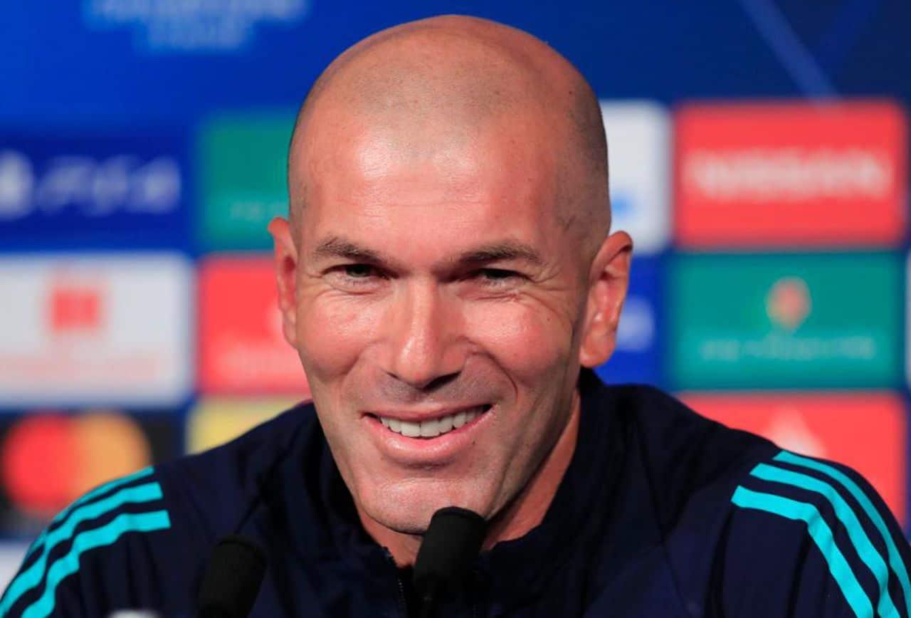 Zinedine Zidane: «Je suis amoureux de Mbappé»