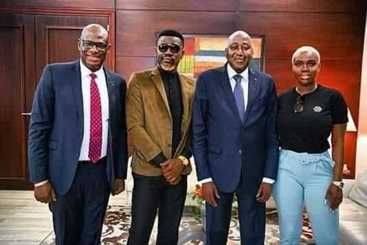 Ariel Sheney et Maria Mobil reçus en audience par le premier ministre ivoirien