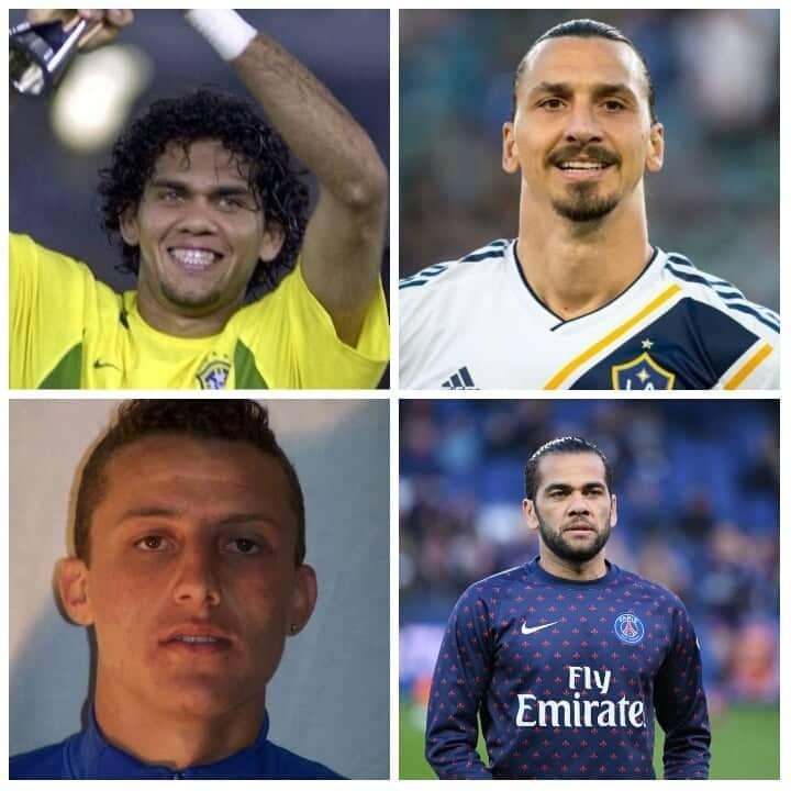 Découvrez ces 10 footballeurs célèbres dont l'apparence a radicalement changé