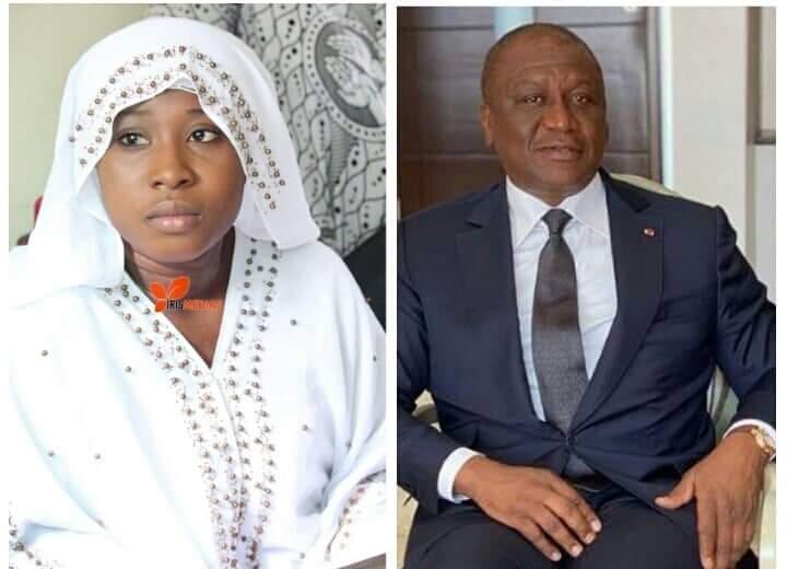 Carmen Sama adresse un message plein de reconnaissance à Hamed Bakayoko