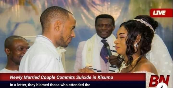 Kenya : Un couple nouvellement marié se suicide, les raisons