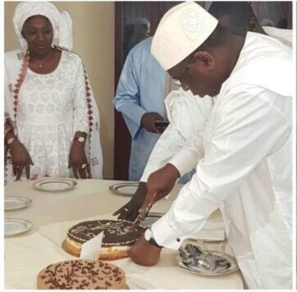 Le Président Macky Sall a fêté son anniversaire lors du Diner Officiel au Old Cataract sur invitation du Président El-Sissi