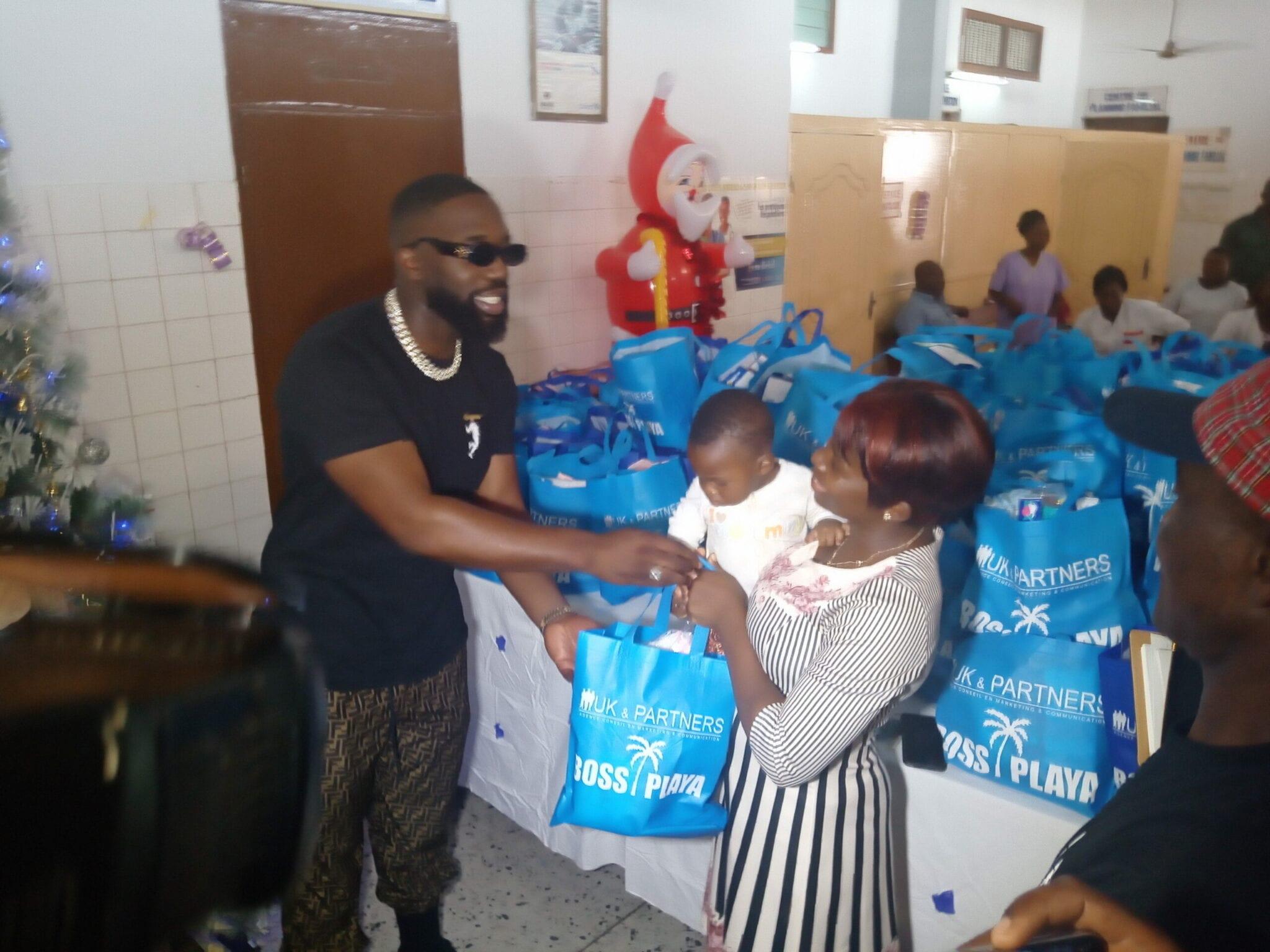 Togo : l'artiste Vegedream et UK & Partners appuient l'hôpital de Bè