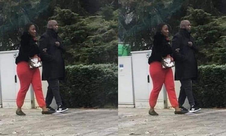 Belgique : Laurent Gbagbo pris en photo dans les bras d'une autre femme