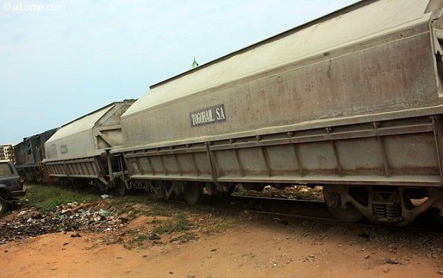 Tristesse après qu'un train ait écrasé un homme à Lomé ce jeudi