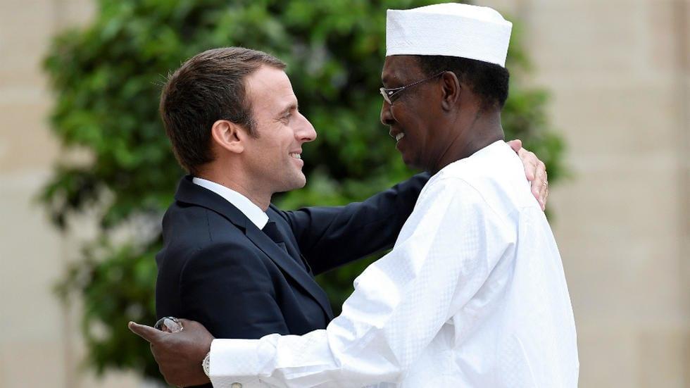 Idriss Déby Itno fait une morale subtile à Emmanuel Macron