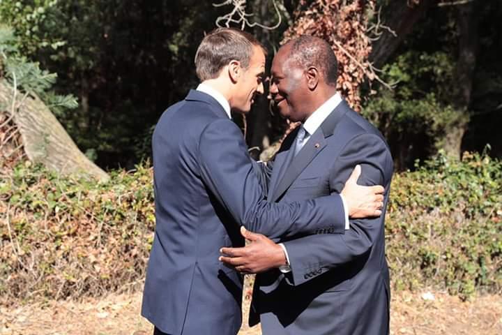Diplomatie : Visite du président Emmanuel Macron en Côte d'Ivoire, les raisons !