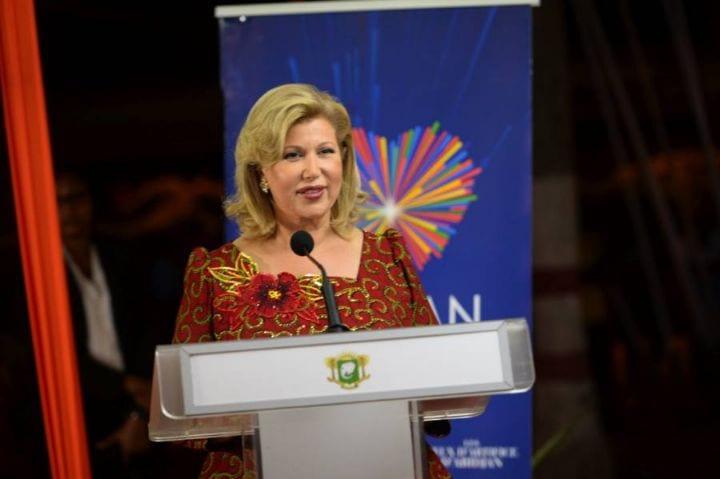 Abidjan : La Première Dame Dominique Ouattara donne le top départ des fêtes de fin d'année