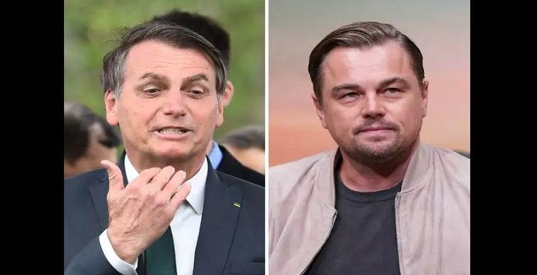 Brésil/Amazonie : le président accuse DiCaprio de financer les incendies, l'acteur lui répond!