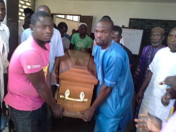 Côte d'Ivoire : inhumation d'un des trois élèves tués (Photos)